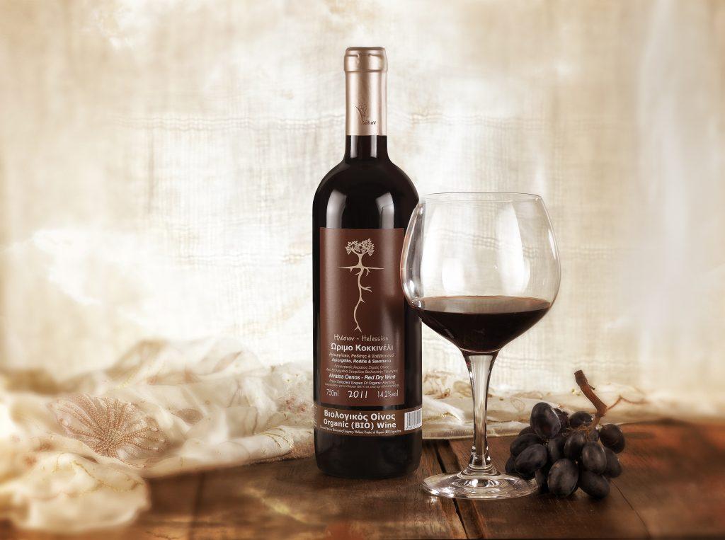 Κοκκινέλι άκρατος οίνος 2011