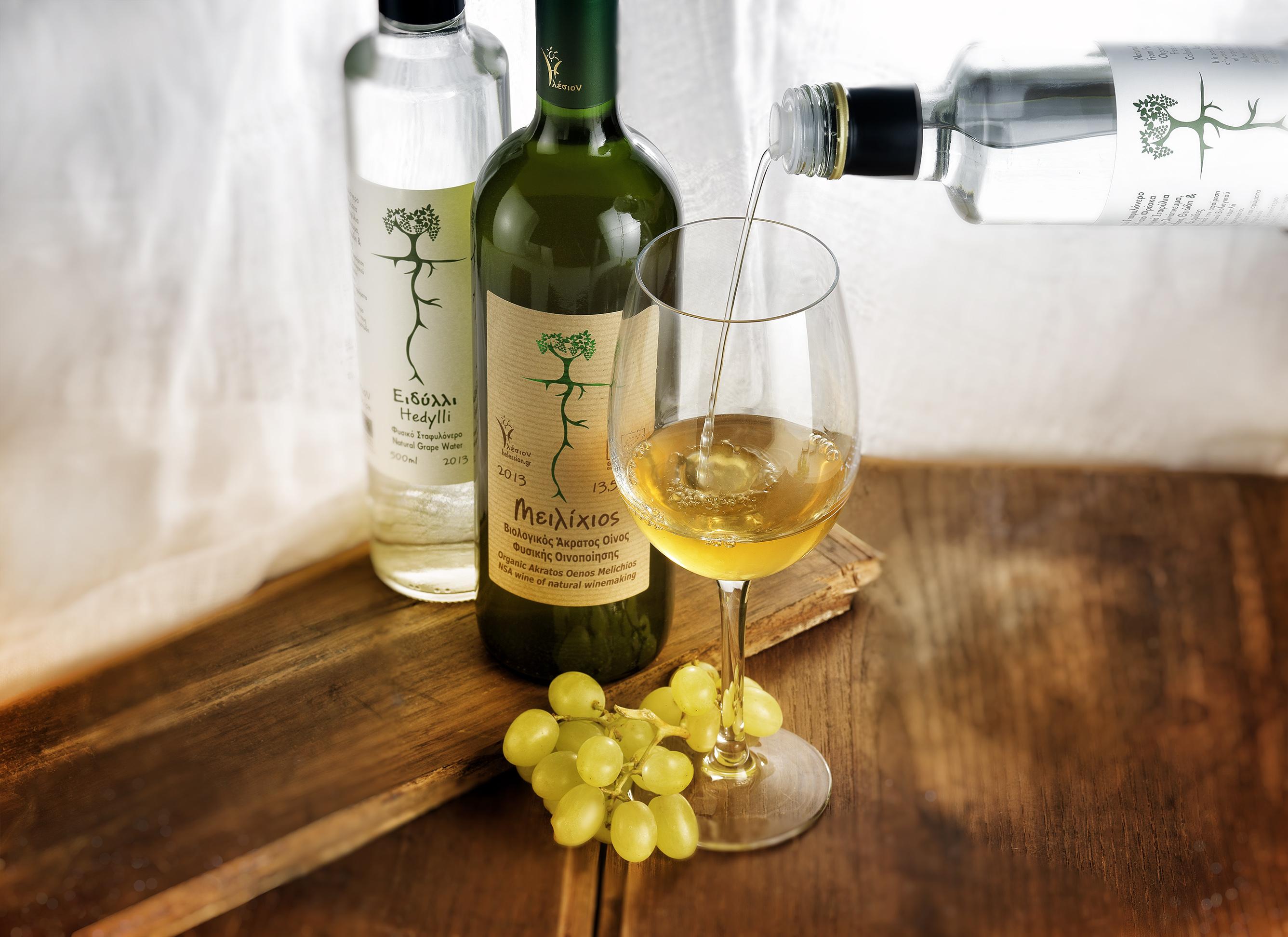 Άκρατος Οίνος + Ειδύλλι = Κρασί (Κεκραμμένος Οίνος)